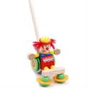 Picture of Circus Clown Pushing Toy