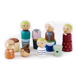 Picture of Doll Family Magnetic Set