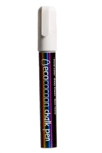 Picture of EcoCocoon Chalk Pen -  White