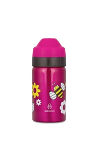 Picture of EcoCocoon Stainless Steel 350ml Spring Bees Pink