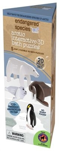 Picture of Endangered Species - Eco 3D Interactive Bath Puzzle - ARCTIC