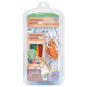 Picture of Endangered Species Eco Doodle Activity Placemat