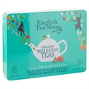 Picture of English Tea Shop Organic Wellness Collection Blue Tin 36pk