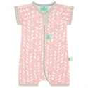Picture of ErgoPouch Layers - Short Sleeve Sleep Wear (0.2 Tog) - Spring Leaves