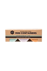 Picture of Ever Eco Mini Pastel Containers 3x 60ml