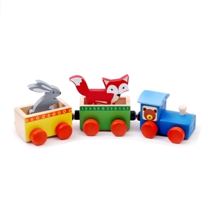 Picture of Forest Animal Train Set