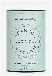 Picture of Franjo's Kitchen Gluten Free Chocolate Chip Lactation Biscuits 14x18gm