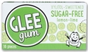 Picture of GLEE gum Sugar-free Lemon-Lime 16 pieces