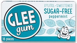 Picture of GLEE gum Sugar-free Peppermint 16 pieces