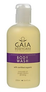 Picture of Gaia Body Wash Lavender & Frankincense 250ml