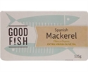 Picture of Good Fish Spanish Mackerel in Extra Virgin Olive oil 125gm can