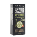 Picture of Health Discovery SuperFoods Nutrient Crackers - Rosemary, Thyme & Garlic 150g