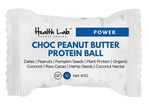Picture of Health Lab Hemp Energy Ball Peanut Butter Choc 40g