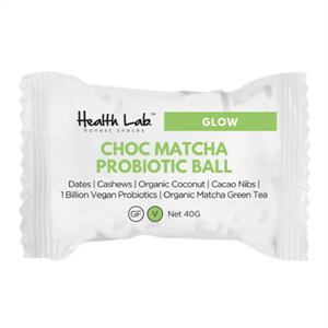 Picture of Health Lab Probiotic Beauty Ball Choc Matcha 40g