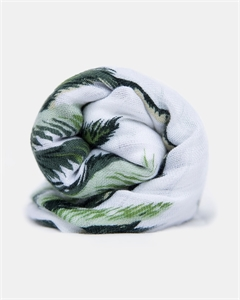 Picture of HeyBaby Bamboo Swaddle Wrap -PALMS!