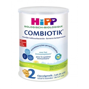 Picture of HiPP Dutch Stage 2 (6-12 Months) Organic Combiotic Follow On Infant Milk Formula (900g/32oz) - 8 Pack