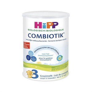 Picture of HiPP Dutch Stage 3 (12 Months +) Organic Combiotic Follow On Infant Milk Formula (800g/28oz) - 4 Pack