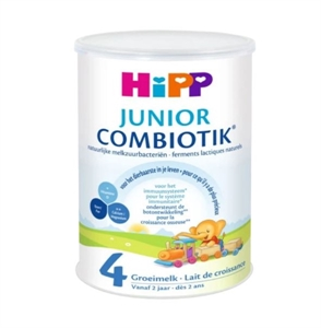 Picture of HiPP Dutch Stage 4 (24 Months +) Combiotic Junior Milk Formula (800g/28oz) - 4 Pack