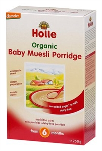 Picture of Holle Organic Baby Muesli (6+ months) 250gm