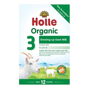Picture of Holle Organic Goat Milk Formula 3 (12 months +) 400gm Bulk Buy x 6 cases