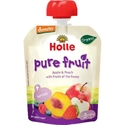 Picture of Holle Organic Pouch Apple and Peach with Fruits of the Forest 90gm
