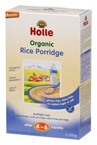 Picture of Holle Organic Rice Porridge Gluten Free (4+ months) 250gm