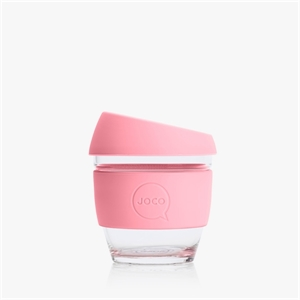 Picture of JOCO Mini Reusable Glass Cup 118ml Strawberry