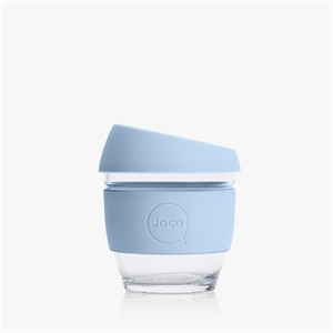 Picture of JOCO Mini Reusable Glass Cup 118ml Vintage Blue