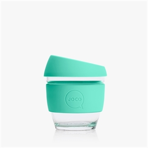 Picture of JOCO Mini Reusable Glass Cup 118ml Vintage Green