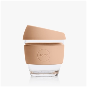 Picture of JOCO Reusable Glass Cup 236ml Amberlight