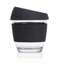 Picture of JOCO Reusable Glass Cup 236ml Black Corporate