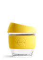 Picture of JOCO Reusable Glass Cup 236ml Meadowlark