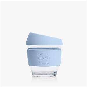Picture of JOCO Reusable Glass Cup 236ml Vintage Blue