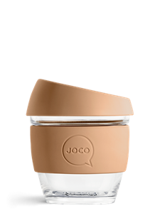 Picture of JOCO Reusable Glass Cup 236ml(8oz) Butterum