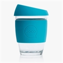 Picture of JOCO Reusable Glass Cup 354ml Blue