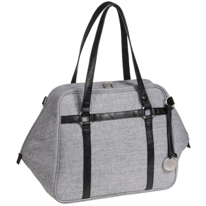 Picture of Lassig Green Label Urban Nappy Bag Black Melange