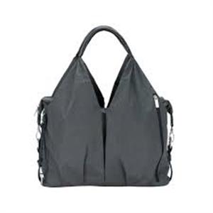 Picture of Lassig Neckline Bag Spin Dye Black Melange