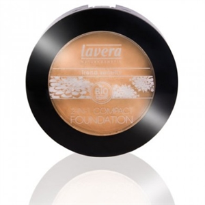 Picture of Lavera 2 in 1 Compact Foundation Ivory 01 10gm