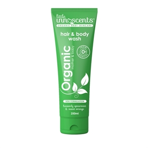 Picture of Little Innoscents Organic Hair and Body Wash Spearmint & Sweet Orange