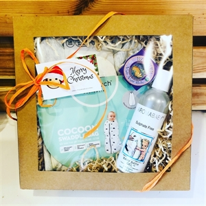 Picture of Little Organics cozy cleanse baby Hamper
