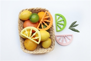 Picture of Little Woods Citrus Fruit Silicone Teether