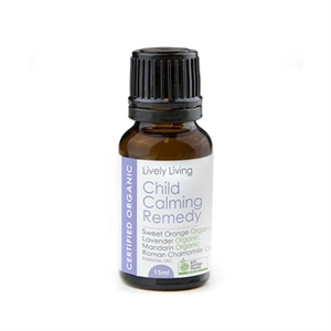 Picture of Lively Living Child Calming Remedy - 100% Certified Organic Oil 15ml