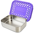 Picture of Lunchbots Purple Dots Lunchboxes - Medium Uno Compartment