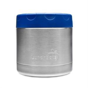 Picture of Lunchbots Stainless Steel Insulated Food Container Blue 16oz/470ml