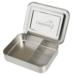 Picture of Lunchbots Stainless Steel Lunchboxes - Medium Trio Compartments