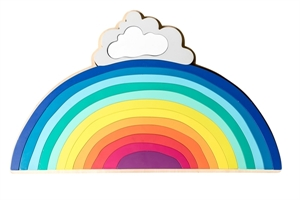 Picture of Make Me Iconic Wooden Rainbow Puzzle