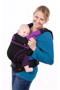 Picture of Manduca Organic Blackline Baby Carrier Loving Lilac