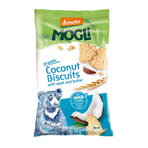 Picture of Mogli Organic Bear Biscuit - 50g