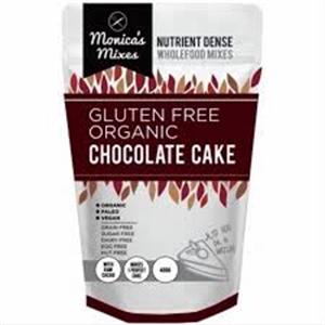 Picture of Monica's Mixes Gluten Free Organic Chocolate Cake Mix 400g