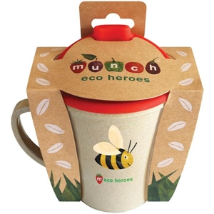 Picture of Munch Eco Hero Toddler Cup - Bee